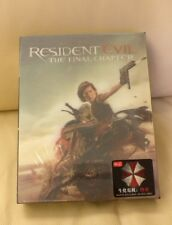 Resident Evil Final Chapter HDZeta Blu-ray Steelbook,  Sealed/Mint