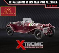 CMC M-141 1:18 1930 ALFA-ROMEO 6C 1750 GRAN SPORT MILLE MIGLIA LIMIT ED 2000