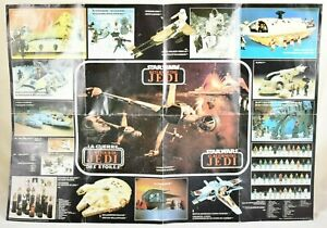 Kenner Star Wars Return of the Jedi Product poster circa 1983