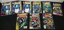 Rare Transformers Generation 2 Comic Book No. 1 Nov. 1993  and lot of #1-7