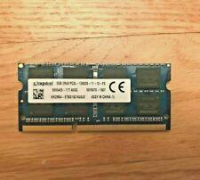 Kingston 8GB 2Rx8 PC3L-12800S DDR3 SODIMM Laptop Memory RAM KN2M64 #79D
