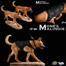 JXK 1/6 Belgian Malinois Dog Pet Figure Animal Model Collector Toys Xmas Gift