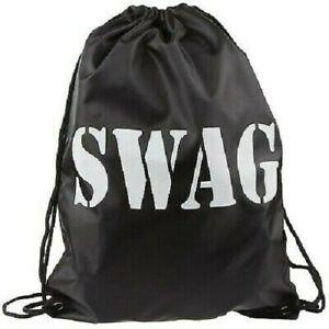 Swag Bag Drawstring Sack Burglar Thief Robber Fancy Dress Costume Accessory New