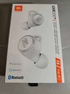 JBL LIVE 300TWS True Wireless In-Ear Headphones White JBLLIVE300TWSWHTAM *NEW*