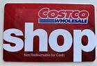 Costco Wholesale Cash Gift Card Zero Balance For Sale