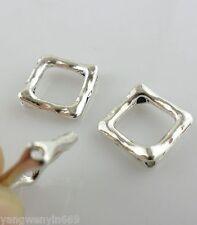 20pcs Tibetan silver square Spacer Beads 12*16mm