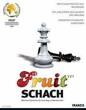Fruit Schach V 2.1 von Franzis Buch & Software Verlag | Game | Zustand gut