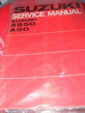 SUZUKI AS50 - A50 SERVICE MANUAL    1968  ( IN GOOD CONDITION)