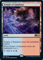 MTG x4 Temple of Epiphany Core Set 2021 RARE Magic the Gathering NM/M