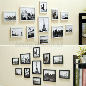11Pcs Picture Photo Frame Wall Hanging Set rt Display Christmas Home Decor  U