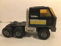 "Vintage Tonka Semi Truck BF Goodrich Pressed Steel 1978 9"" long"