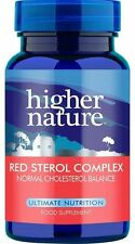 Higher Nature Rosso dello sterolo COMPLEX 90 compresse (pacco da 3)