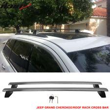 Fits 11-18 Jeep Grand Cherokee OE Factory Style Roof Rack Cross Bar w/ Key Lock