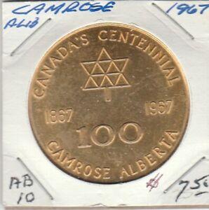 Camrose AB, 1967 Trade Dollar