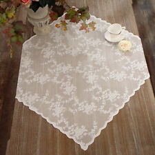 Centrotavola Pizzo Poliestere Shabby chic Poly-Ciel Collection Colore Bianco