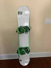 Ride DH Series Snowboard With Union Bindings
