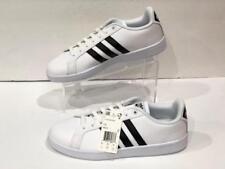 8146f5f9 Adidas W ЭВА преимущество в полоску белый/черный суда обувь AW4287