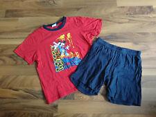 Kurzer Schlafanzug, Pyjama Gr.116 mit Micky Maus von Disney