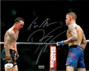Dustin Poirier autographed signed inscribed 8x10 photo UFC The Diamond JSA COA