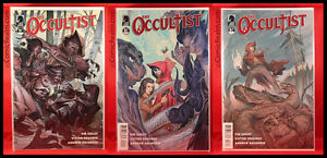 The Occultist #1, 2, 3 Set 2011 Dark Horse Tim Seeley! Bagged & Barded NM/M!