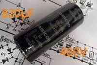 elko 400V 820µF INDUSTRIEQUALITÄT 105°C Longlife JAMICON capacitor