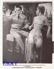 Elvis Presley Juliet Prowse leggy VINTAGE Photo G.I. Blues