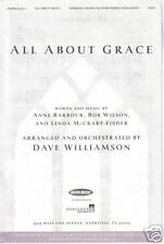 All About Grace Barbour/Wilson/McCrary-Fisher Sheet Music 2000 SATB
