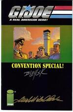 G.I.Joe Convention Special #1 Autographed Blaylock Beck
