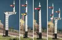 Ratio 486 LNER Latticed Post Signal Kit (Makes 4 Signals) '00' Gauge Kit T48Post