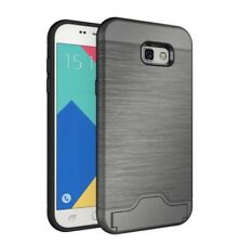 Samsung Galaxy A5 2017 Shockproof Hybrid Card Slot Kickstand Hard Cover Case