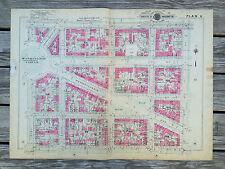 Foggy Bottom Vintage Antique Original Baist Atlas 1927 Washington DC Map Plan 8