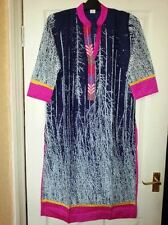 Unbranded Full Length Cotton Collared Dresses for Women
