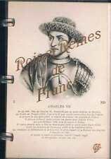 Rois Et Reines De France   Cap