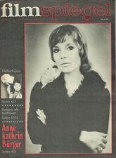 FILMSPIEGEL 2/1976  ANNE KATHRIN BÜRGER ALTY KARLIJEW   (FS665)