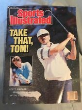 Sports Illustrated June 29 1987 Scott Simpson Cover Issue