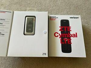 ZTE Cymbal LTE Verizon Prepaid Flip Phone Lot of 12