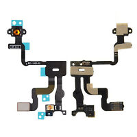 Proximity Light Sensor Power Button Flex Cable Replacement For iPhone 4 4s New