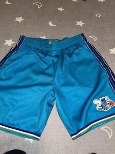 Charlotte Hornets Mitchell & Ness Swingman Shorts XL