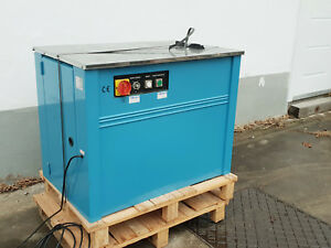 TP-201CE Halbautomatische Umreifungsmaschine Umreifungsautomat inkl. MwSt