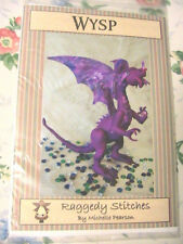 "WYSP DRAGON~Michelle Pearson 16"" whimsical cloth art doll pattern 2006"