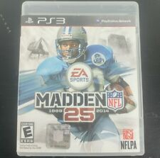 2014 Madden NFL 25 - Playstation 3 Football