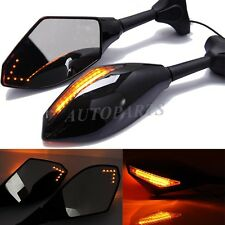 MOTORCYCLE LED TURN SIGNALS SIDE MIRRORS FOR 2001-2003 SUZUKI GSXR 600 750 1000