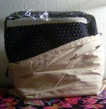 Naghedi Marais Mini Hobo Woven Small Tote Handbag Onyx Black & Dust Bag