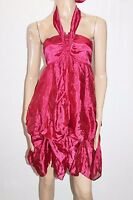 Peace Angel Brand Red Strapless Halter Party Dress Size S BNWT #Si71