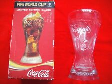 COLLECTABLE FIFA 2006 WORLD CUP COCA COLA LIMITED EDITION GLASS
