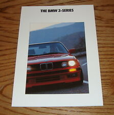 Original 1991 BMW 3-Series E30 Sales Brochure 91 325i 318i