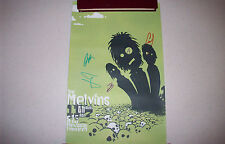 The Melvins Big Business 2006 signed concert poster Memphis New Daisy Theatre