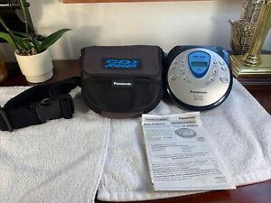 Panasonic SL-SV600J Portable CD Player Anti-Skip AM/FM Radio Tested+Manual+Case