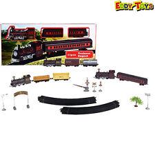 Treno Con Accessori 11 PZ Trenino Modelli Assortiti Playset Giocattolo Trenini