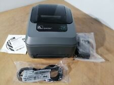 Zebra GX430t  Direct Thermal Transfer Receipt Printer 300DPi USB & PARALLEL